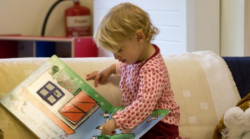 Our library corner - full of inspiring reading!