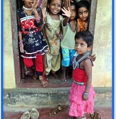 Image of children who have been helped by the Hope Charity and Sunshine House