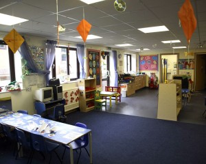 One of the Ark's main learning areas