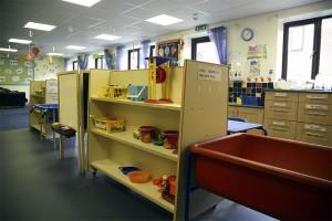 Play & storage area